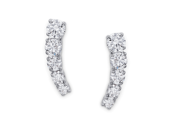 Buy original Bucherer EARRINGS CLASSICS 1280-617-2 with Bitcoins!