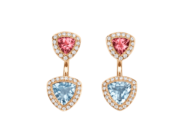 Buy original Bucherer EARRINGS DAILY TREASURES 1303-917-5 with Bitcoins!