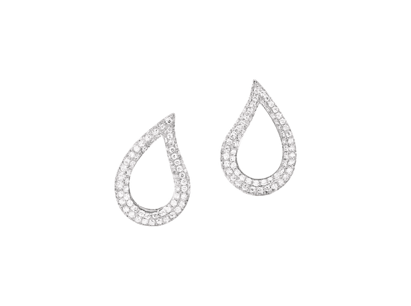Buy original Bucherer EARRINGS LACRIMA 0122-483-1 with Bitcoins!
