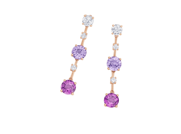 Buy original Bucherer EARRINGS PASTELLO 1278-358-7 with Bitcoins!