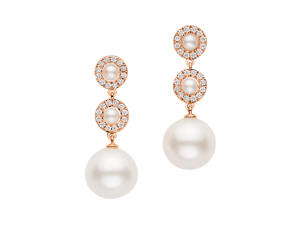Buy original Bucherer EARRINGS PEARLS 1264-504-6 with Bitcoins!