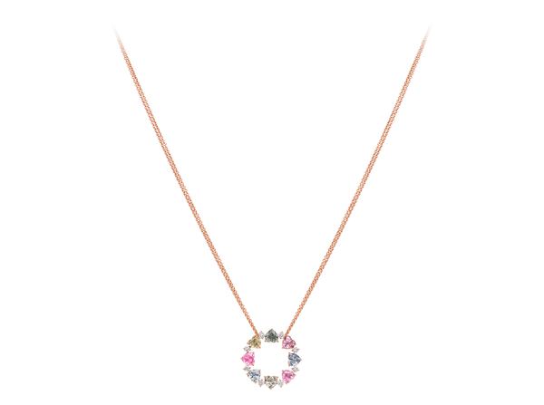 Buy original Bucherer NECKLACE PASTELLO 1294-557-0 with Bitcoins!