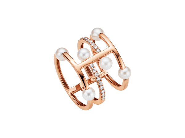 Buy original Bucherer RING 1295-440-2 PEARLS with Bitcoins!