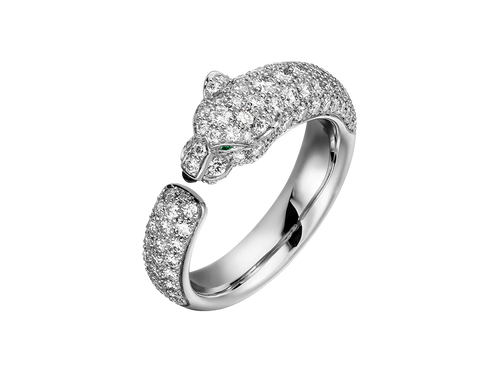Buy original Cartier Panthère de Cartier ring N4765600 with Bitcoins!
