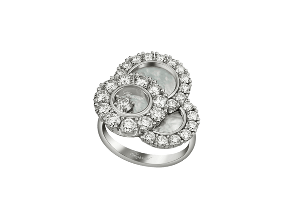 Buy original Chopard HAPPY DREAMS RING 829882-1010 with Bitcoins!