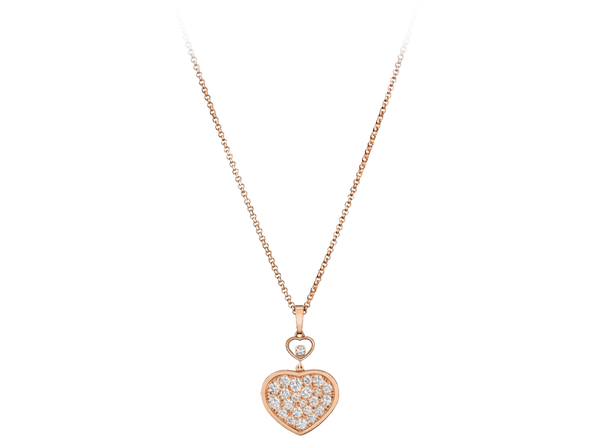 Buy original Chopard HAPPY HEARTS PENDANT 797482-5009 with Bitcoins!