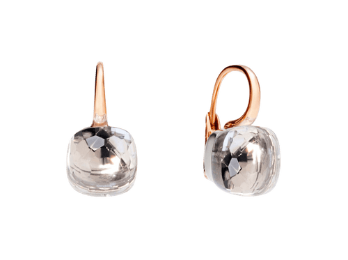 Buy original Jewelry Pomellato Nudo Earrings O.A107/O6/TB with Bitcoins!