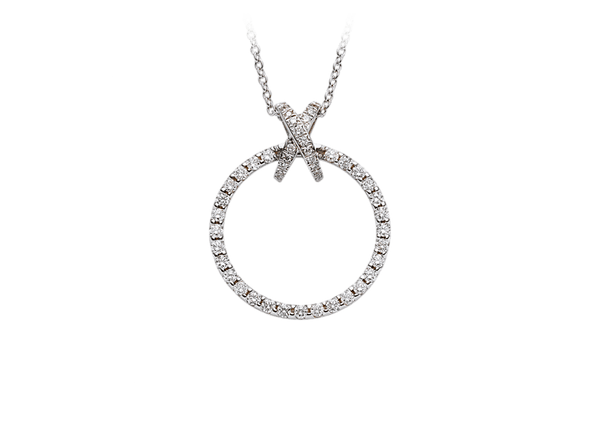 Buy original Jewelry Stoess Crossover Pendant 410235050011 with Bitcoins!