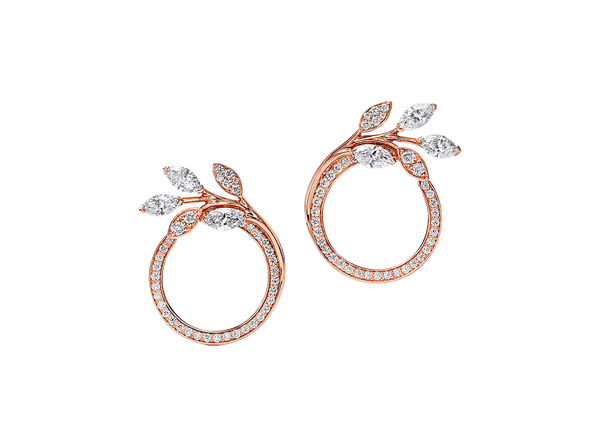 Buy original Jewelry Tiffany Victoria Earrings 68287480 with Bitcoins!