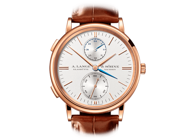 Buy original A.Lange & Sohne SAXONIA DUAL TIME 386.032 with Bitcoins!