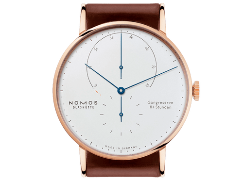 Buy original Nomos Glashuette LAMBDA ROSE GOLD 932 with bitcoin!