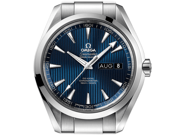 Buy original Omega SEAMASTER AQUA TERRA 150M OMEGA  CO-AXIAL ANNUAL CALENDAR 231.10.43.22.03.002 with Bitcoin!
