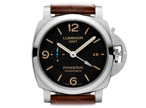 Buy original Panerai LUMINOR 1950 3 DAYS GMT PAM01320 with Bitcoin!