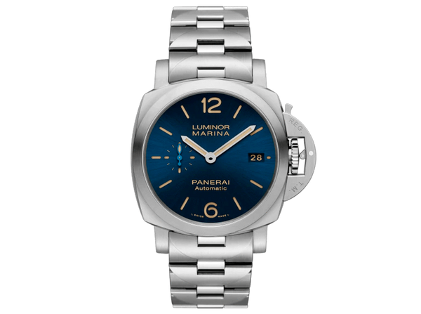 Buy original Panerai Luminor Marina PAM01028 with Bitcoin!