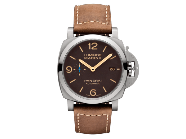 Buy original Panerai Luminor Marina PAM01351 with Bitcoin!