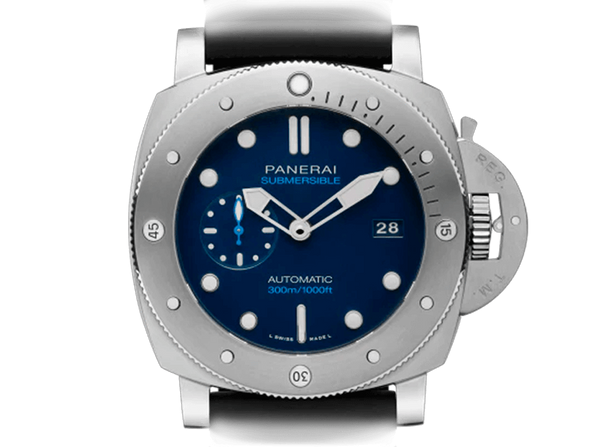 Buy original Panerai Luminor Submersible 1950 PAM00692 with Bitcoin!