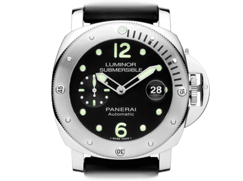 Buy original Panerai LUMINOR SUBMERSIBLE AUTOMATIC ACCIAIO PAM01024 with Bitcoin!
