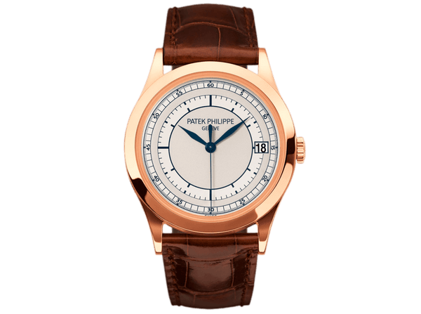 Buy original Patek Philippe Calatrava 5296R-001 with Bitcoins!