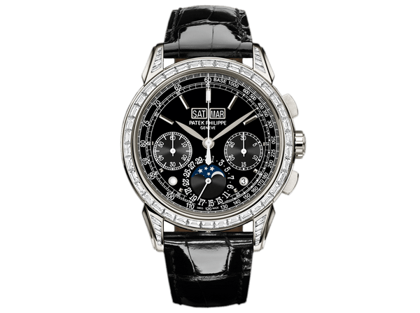 Buy original Patek Philippe Grand Complications 5271P-001 with Bitcoins!
