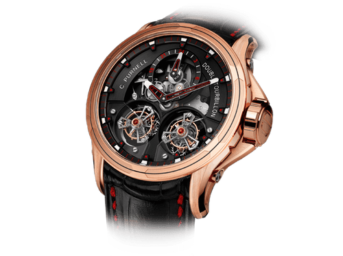 Buy original Purnell Twin Tourbillon 16.R/OR.01 with Bitcoins!