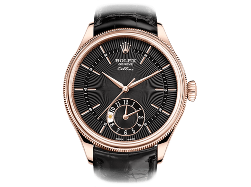 Buy original Rolex CELLINI DUAL TIME 50525 with Bitcoins!