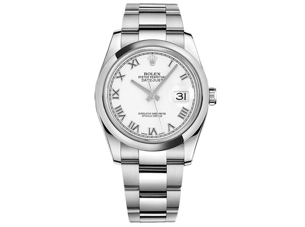 Buy original Rolex DATEJUST 36 m 116200-0055 with Bitcoins!