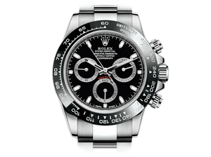 Buy original Rolex Daytona 116500LN black with Bitcoin!