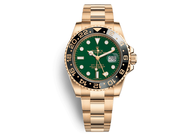 Buy original Rolex GMT-MASTER II 116718 with Bitcoin!