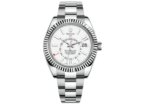 Buy original Rolex SKY-DWELLER m 326934-0001 with Bitcoin!