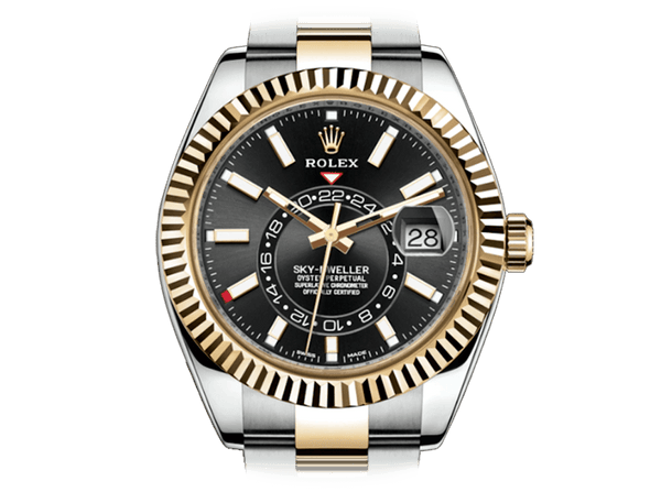 Buy original Rolex SKY-DWELLER (326933) 2017 with Bitcoin!