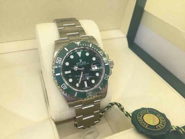 Original Rolex Submariner 116610LV for Bitcoins