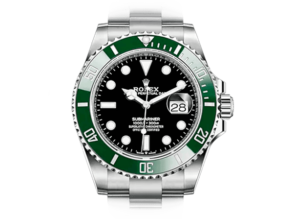 Buy original Rolex Submariner m 126610lv-0002 with Bitcoins!