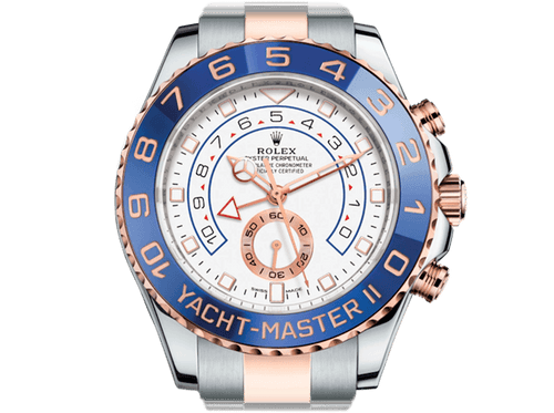 Buy original Rolex YACHT-MASTER II 116681 with Bitcoin!