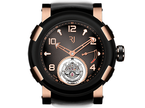 Buy original Romain Jerome STEAMPUNK TOURBILLON POWER RESERVE  SPT.KKOO.1518.RB with Bitcoin!