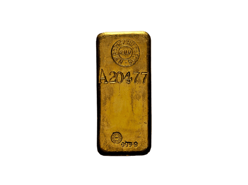 BitDials | Buy original Rothschild Gold Bar (casted) 1000g with Bitcoins!