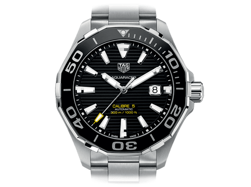Buy original Tag Heuer Aquaracer Calibre 5 Automatic WAY201A.BA0927 with Bitcoins!