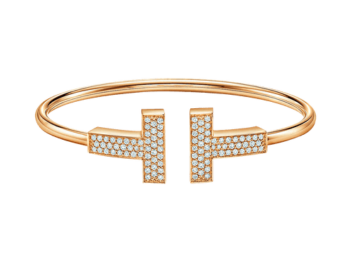 Buy original Jewelry Tiffany T Bangle GRP11324 with Bitcoins!