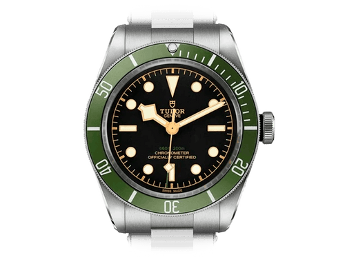 Buy original Tudor BLACK BAY 79230G with Bitcoins!