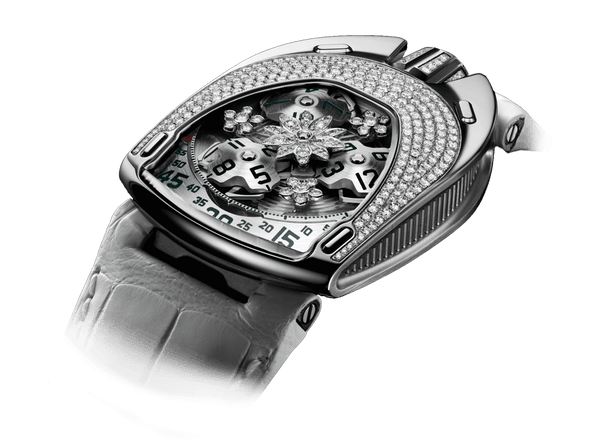 Buy original Urwerk UR-106 Flower Power with Bitcoins!