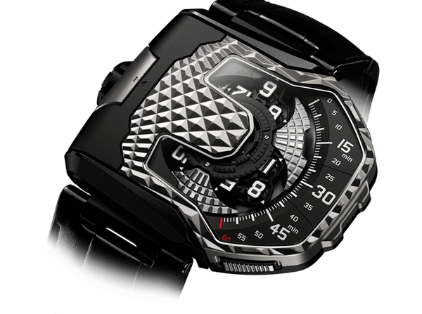 Buy original Urwerk UR-T8 BICOLOR  UR-T8 with Bitcoins!