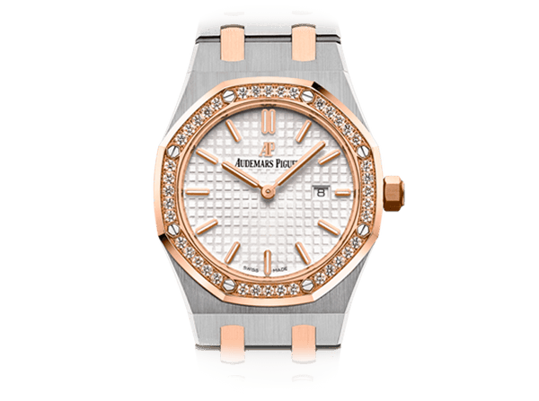 Buy original Audemars Piguet ROYAL OAK QUARTZ with Bitcoins!