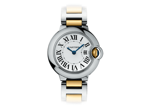 Buy original Cartier Ballon Bleu 28 with Bitcoins!