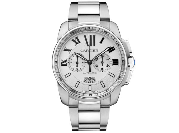 Buy original Cartier Calibre de Cartier W7100045 with Bitcoins!