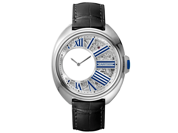 Buy original Cartier CLÉ DE CARTIER MYSTERIOUS HOUR WHCL0003 with Bitcoins!