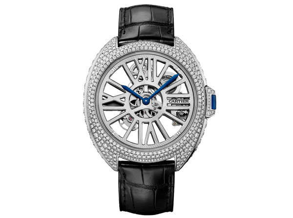 Buy original Cartier CLÉ DE CARTIER SKELETON HPI01057 with Bitcoins!