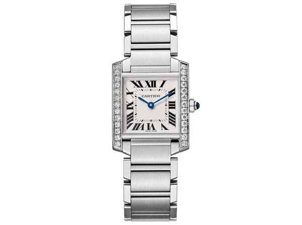 Buy original Cartier TANK FRANÇAISE W4TA0009 with Bitcoins!