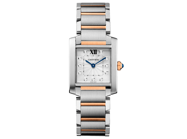 Buy original Cartier TANK FRANCAISE WATCH WE110005 with Bitcoins!