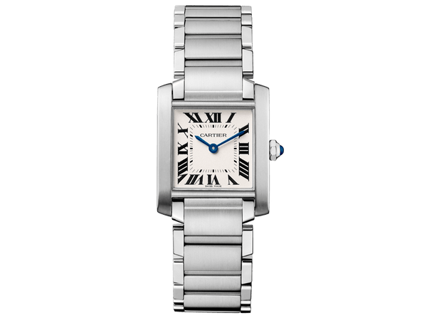 Buy original Cartier TANK FRANCAISE  WATCH WSTA0005 with Bitcoins!