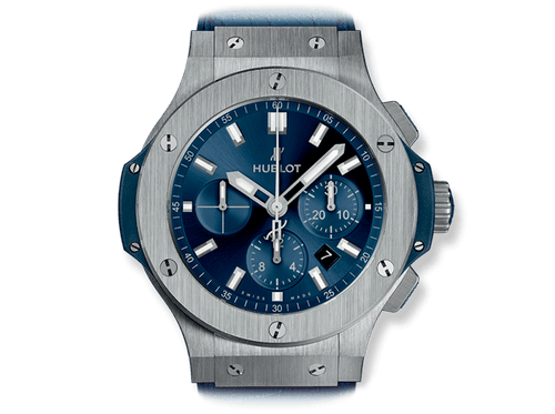 Buy original Hublot BIG BANG STEEL BLUE 301.SX.7170.LR with Bitcoins!