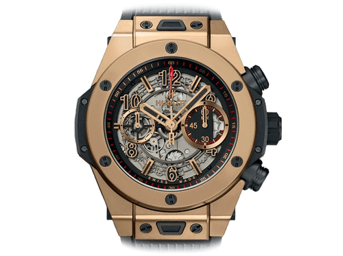 Buy original Hublot BIG BANG UNICO FULL MAGIC GOLD 411.MX.1138.RX with Bitcoins!